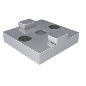 Connector Flat Silver 50